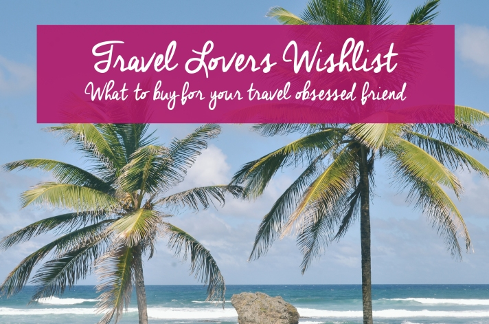 travel lovers wishlist